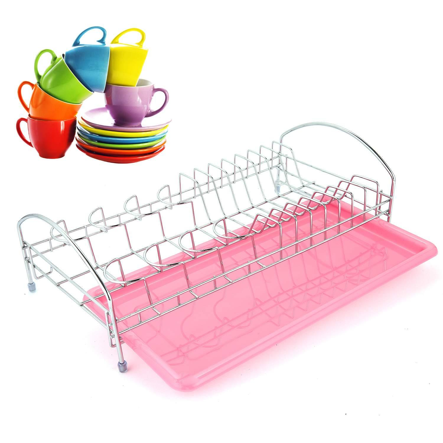 Kitchen Kitchenware Tools Stainless Steel Dish Drying Rack HITC