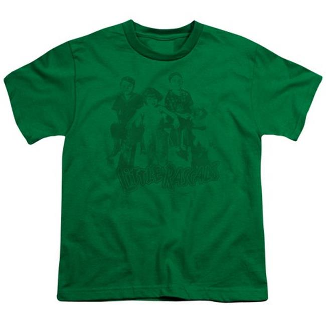 Little Rascals-The Gang - Short Sleeve Youth 18-1 Tee - Kelly Green, Large - image 1 de 1