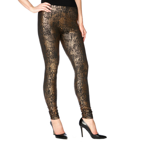 Miss Tina Women's Ruched Leggings