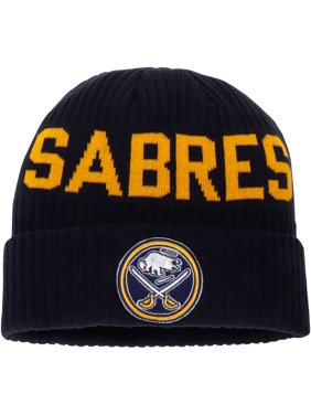440cfd3d6d1 Product Image Buffalo Sabres Fanatics Branded True Classic Bold Cuffed Knit  Hat - Navy - OSFA