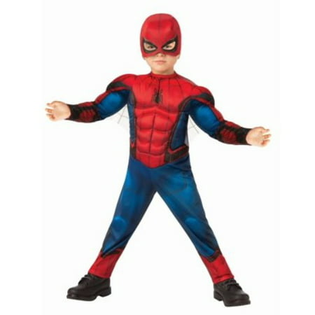 Garbage Man Halloween Costume Toddler (Rubie's Marvel Spiderman Toddler Classic Halloween)