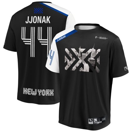 JJONAK New York Excelsior INTO THE AM 2019 Overwatch League Limited Edition Authentic Third Jersey - Black