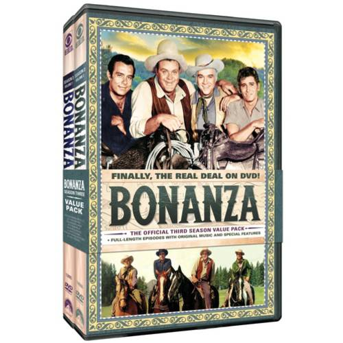 Bonanza: The Official Third Season, Volumes One And Two (Full Frame)