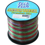 Trik Fish 014LB05005 Armor Tough Mono Line-1/4 Lb 50 lb 240 Yards Camo