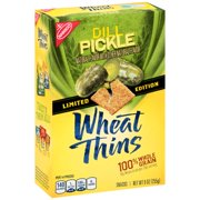 Nabisco Wheat Thins Dill Pickle Snacks, 9 Oz.