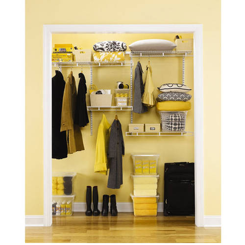Rubbermaid Multi Purpose Deep Closet Kit