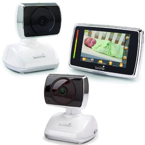 Summer Infant 29240 - Touchscreen Digital Color Video Baby Monitor with Extra Ca