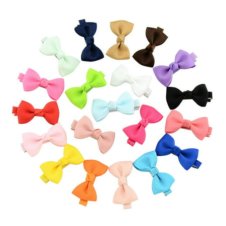 20Pcs Hair Barrettes, Coxeer Hair Clips Hair Bows Hair Pins Hair Accessories for Baby Girls Kids Teens Toddlers Children - Cheap Hair Accessories