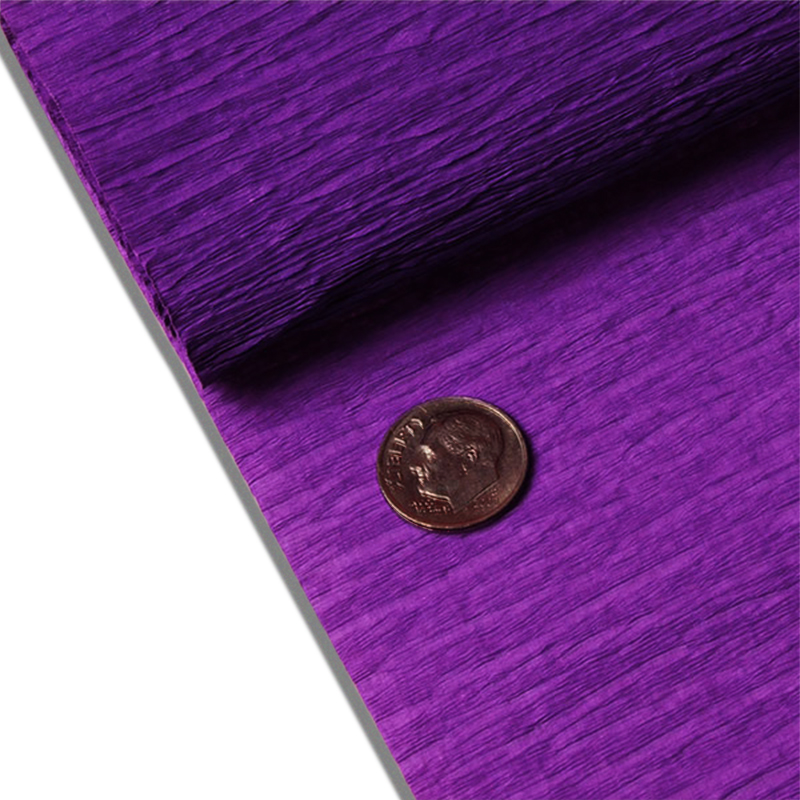 "Purple Crepe Paper 19"" X 3yd by Paper Mart"