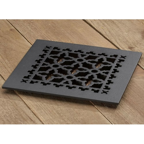 "Reggio Registers 1010-H Scroll Series 8"" x 8"" Grille with Mounting Holes"
