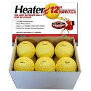 (12 pack) Trend Sports Heater 12 Inch Pitching Machine Softballs