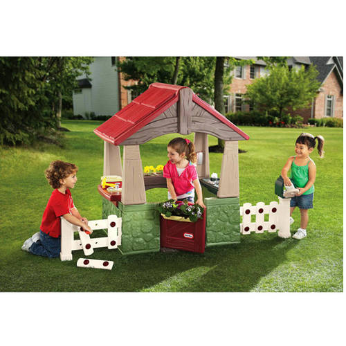 Little tikes garden bench play set - Maison de jardin little tikes colombes ...