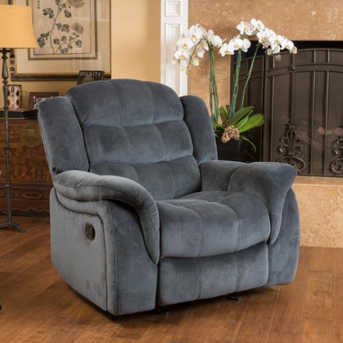 Christopher Knight Home Hawthorne Fabric Glider Recliner Club Chair by by Overstock