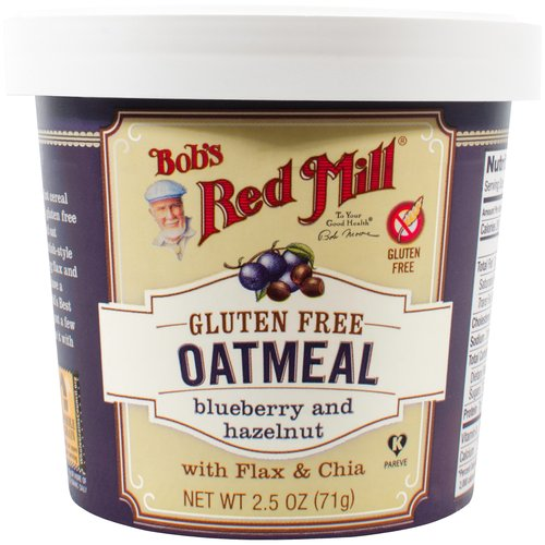 Bob's Red Mill Gluten Free Oatmeal Blueberry And Hazelnut, 2.5 OZ by Bob'S Red Mill