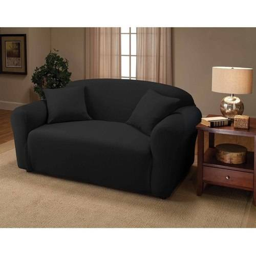 Jersey Stretch Loveseat Slipcover by Madison Industries, Inc.