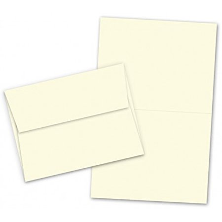 Fold Over Note Cards (A7 - 5