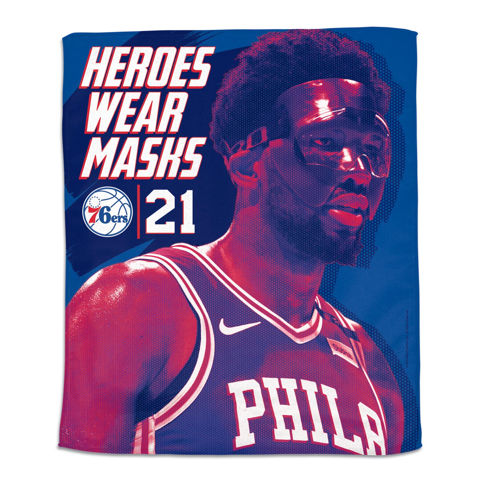 "Joel Embiid Philadelphia 76ers WinCraft 15"" x 18"" Rally Towel - No Size"