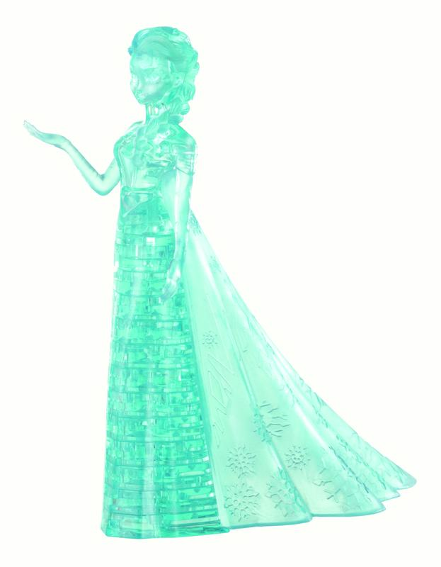 Original 3D Crystal Puzzle Elsa by University Games
