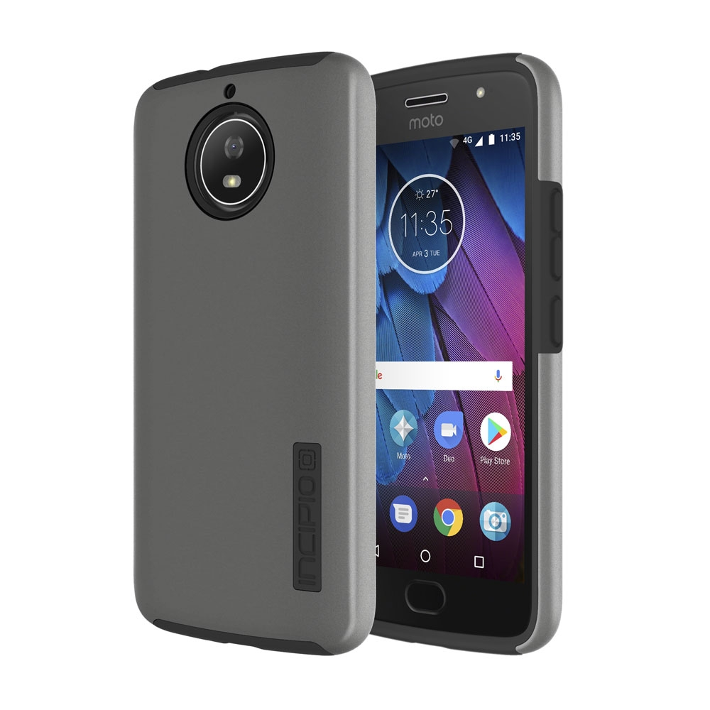 Incipio DualPro Motorola Moto G5s Case with Shock-Absorbing Inner Core & Protective Outer Shell for Motorola Moto G5s -