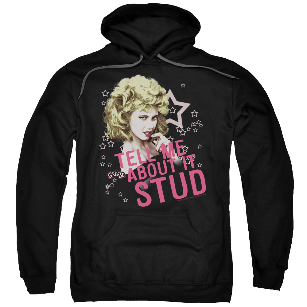 Grease Tell Me About It Stud Mens Pullover Hoodie