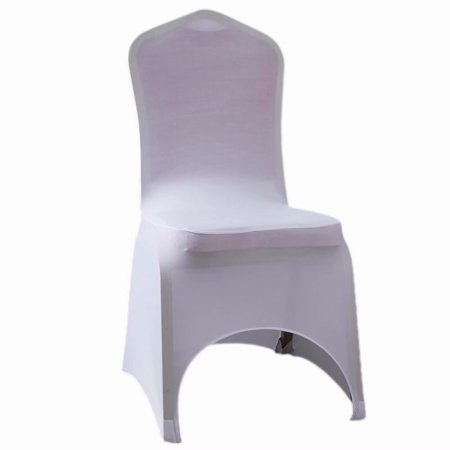 Prime 100Pcs Elastic Face Arch Polyester Spandex Chair Covers White Walmart Com Gmtry Best Dining Table And Chair Ideas Images Gmtryco