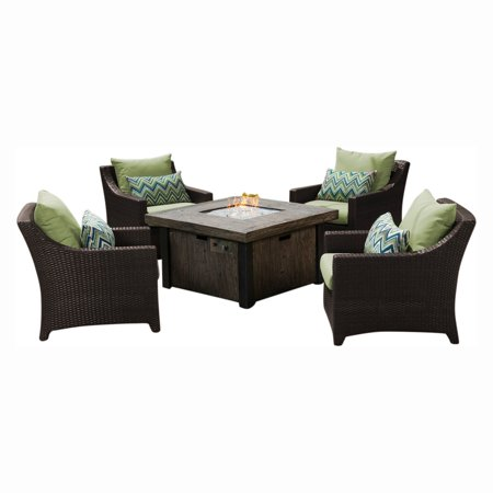 DISCONTINUED BY VENDOR 08 02 Deco 5pc Fire Chat Set - Ginkgo Green by RST Brands