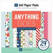 """Echo Park Double-Sided Paper Pad, 6"""" x 6"""", 24-Pack"""
