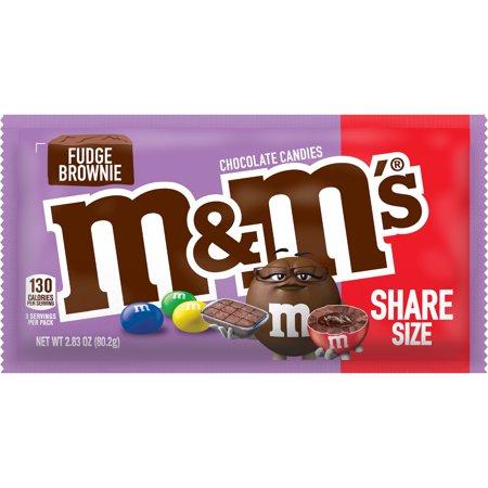 M&M's Fudge Brownie Share Size - 2.83oz
