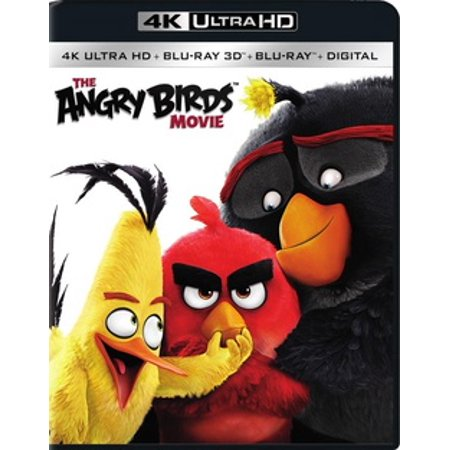 The Angry Birds Movie (4K Ultra HD) - Angry Birds Halloween Game Hd