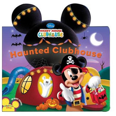 Haunted Clubhouse (Board Book) (Haunted Poems Halloween)