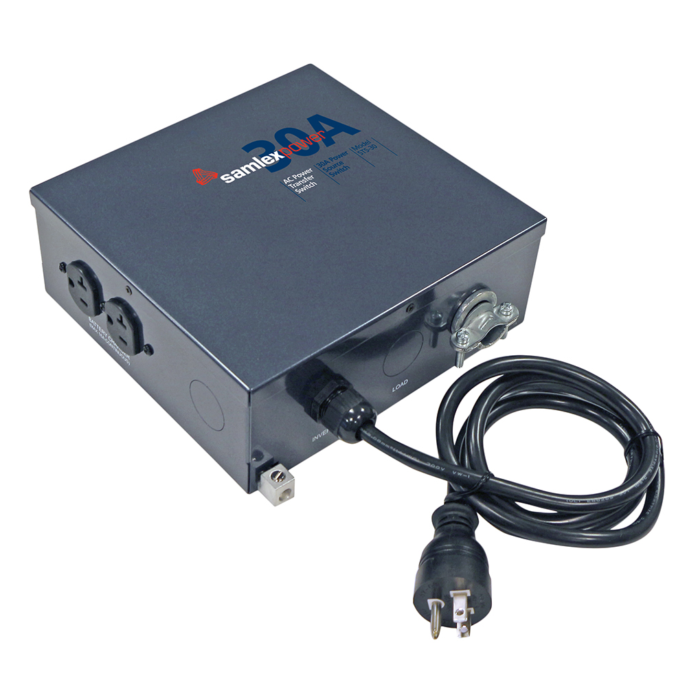 ALL POWER SAMLEX STS-30 TRANSFER SWITCH WITH INVERTER QUI...