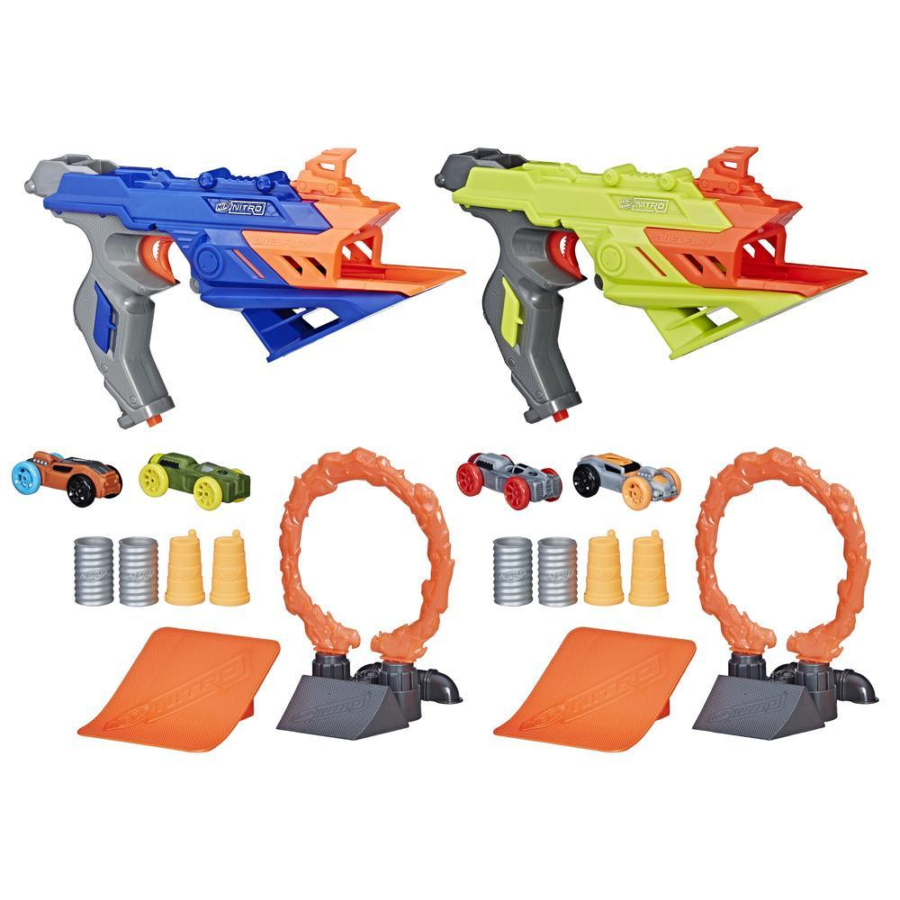 Hasbro HSBC0817 Nerf Nitro DuelFury Demolition Standard Packaging, Pako of 4