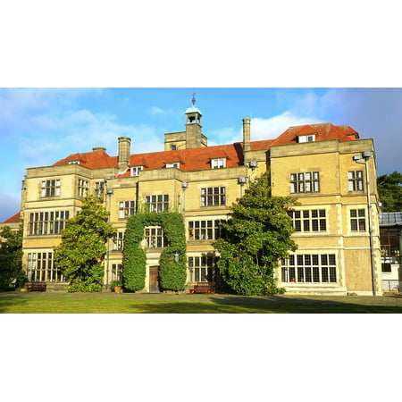 LAMINATED POSTER Building Mansion Architecture Manor Old House Poster Print 24 x (English Manor Mansion)