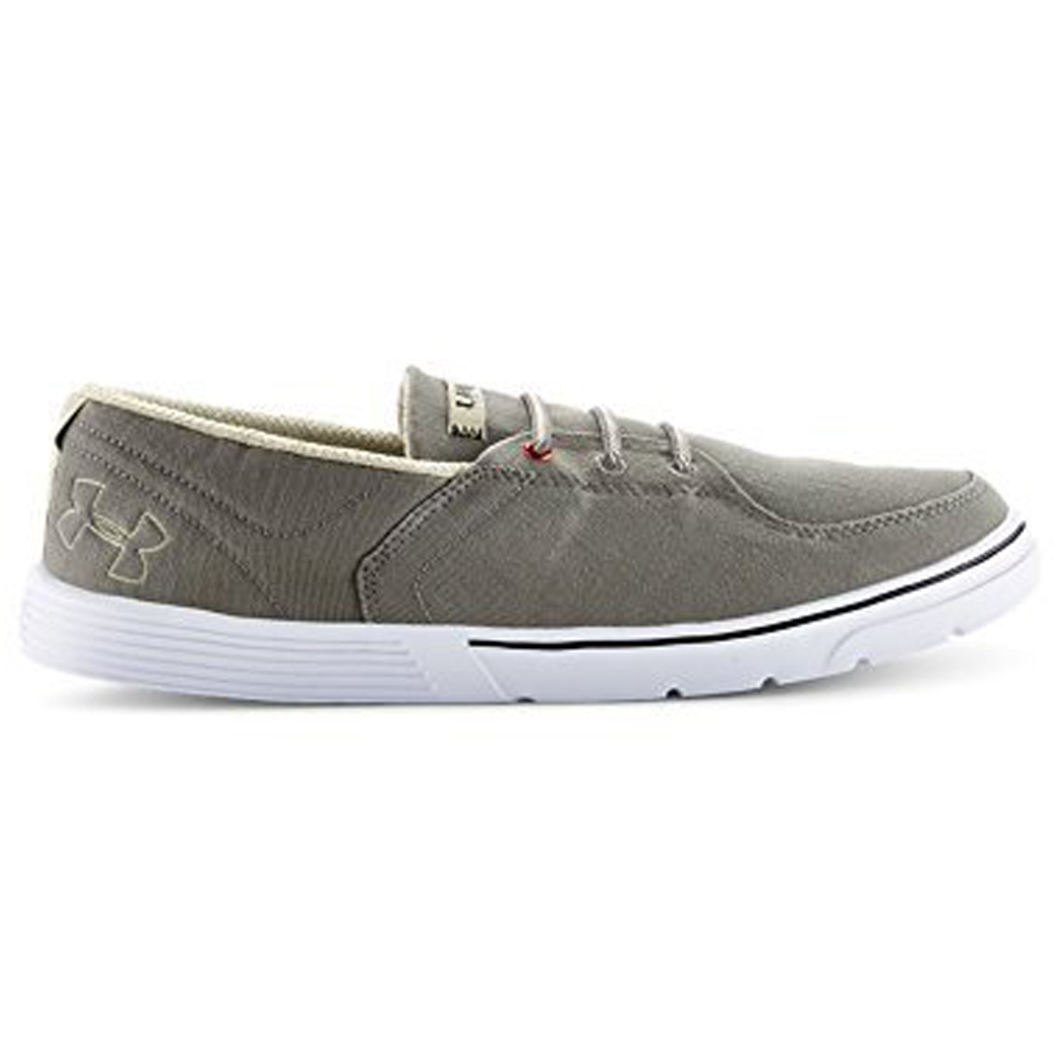 Under Armour Men's Street Encounter Shoes SL Casual Canvas Sneakers Grey 8
