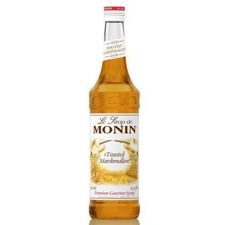 Monin Toasted Marshmallow Syrup 750 ml Glass Bottle