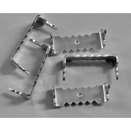 Sawtooth Pockets - 100 Zinc Plated Small No Nail Sawtooth Picture Frame Hangers for Softwood
