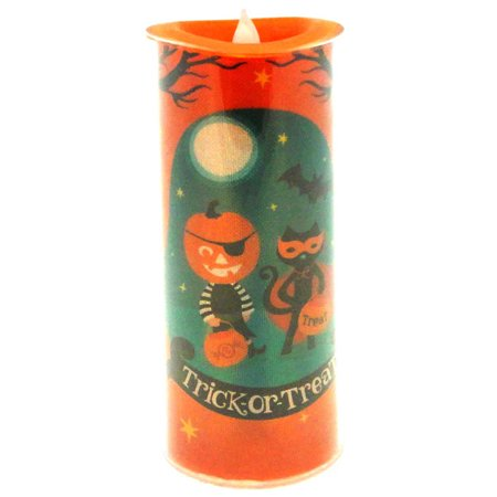 Halloween TRICK OR TREAT LED SHIMMER CAND Acrylic - Arthur Halloween Trick Or Treat