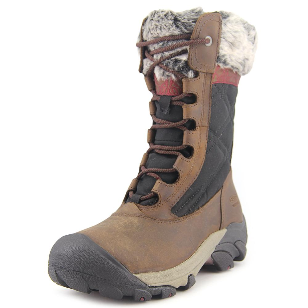 Keen Hoodoo III Women  Round Toe Leather  Snow Boot