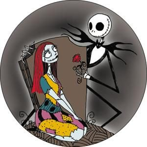 EDIBLE CAKE IMAGE-30 NIGHTMARE BEFORE CHRISTMAS CUPCAKE TOPPERS Buyer`s Choice