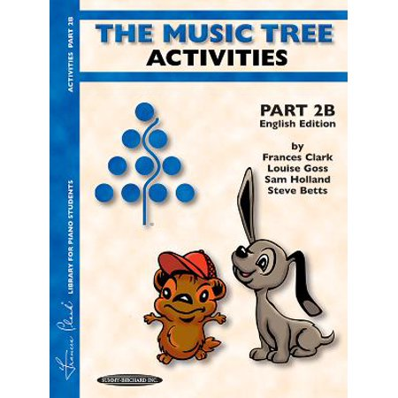 The Music Tree English Edition Activities Book (Paperback)