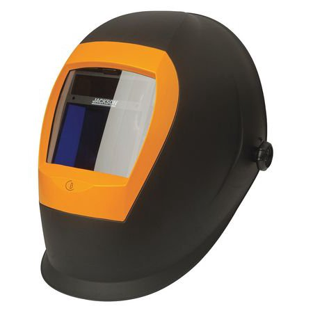 Jackson Safety Auto Darkening Welding Helmet, Yellow/Black 37191