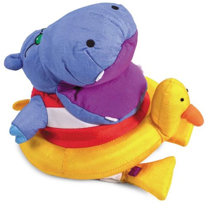 Manhattan Toy Hippo Puppetotamus Puppet Bath Toy by Manhattan Toy