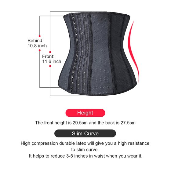 106679e46a Camellias Corsets - Camellias Womens Latex Workout Waist Trainer ...