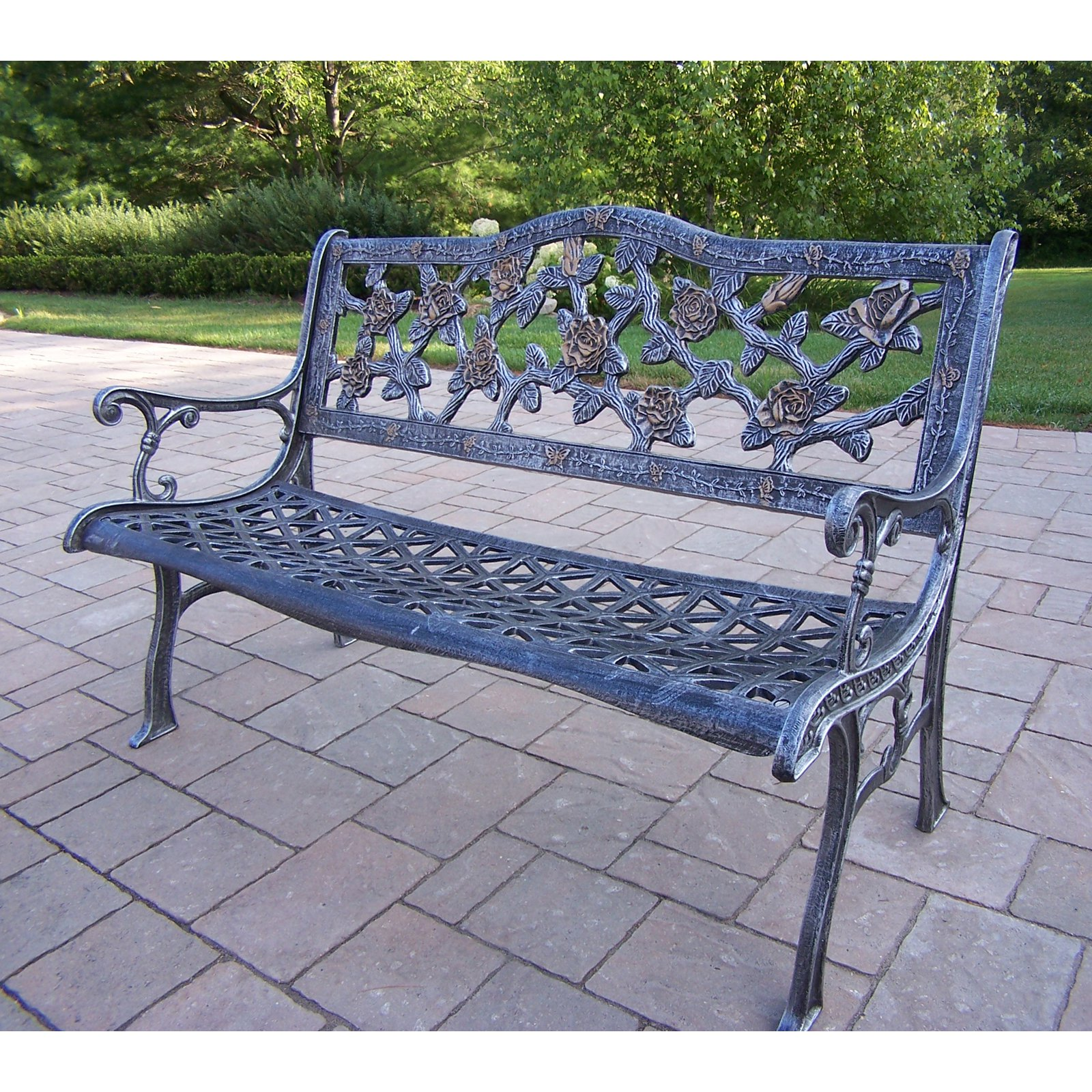 Oakland Living English Rose Bench