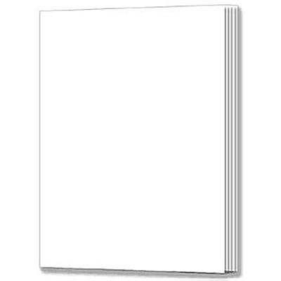 Rectangle Blank Book for Young Authors, Grades K -