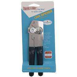 Swing-a-way Junior Portable Can Opener in Nickel
