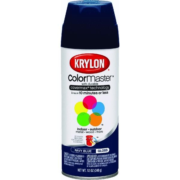 Krylon ColorMaster Navy Blue Spray Paint