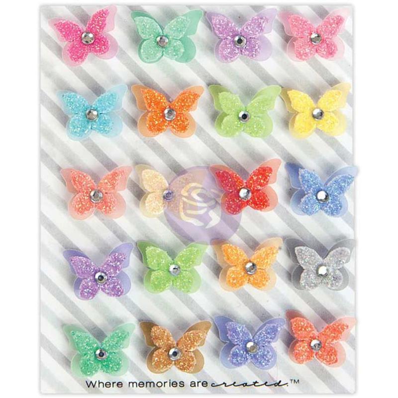 Colorful Flight - Prima Traveler's Journal Butterflies
