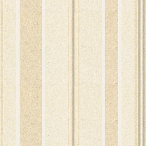 Kynzo Stripe Wallcovering, Beige/Cream