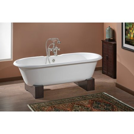 Cheviot Products Regal 61\'\' x 31\'\' Soaking Bathtub with 7\'\' Drilling ...